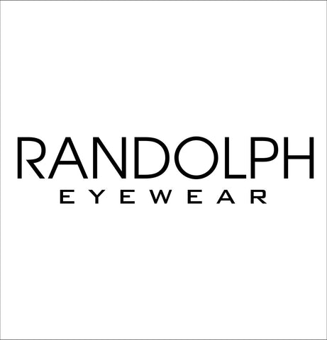 Randolph decal, car decal sticker