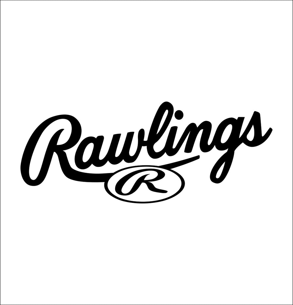 rawlings decal, car decal sticker