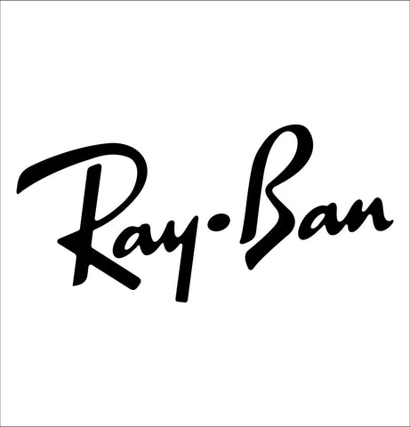 Ray Ban decal, car decal sticker