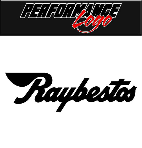 Raybestos Brakes decal, performance decal, sticker