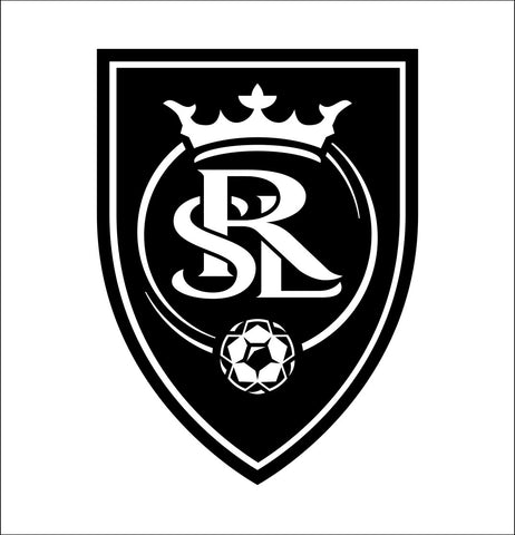 Real Salt Lake decal, car decal sticker
