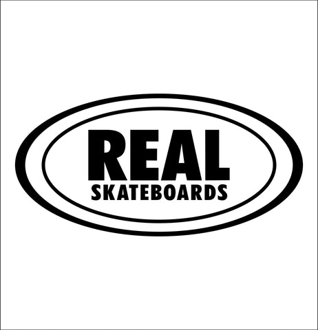 Real Skateboards decal, skateboarding decal, car decal sticker