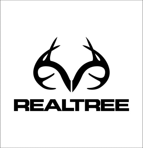 Realtree decal, sticker, hunting fishing decal