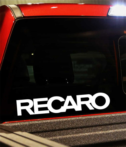 recaro performance logo decal - North 49 Decals