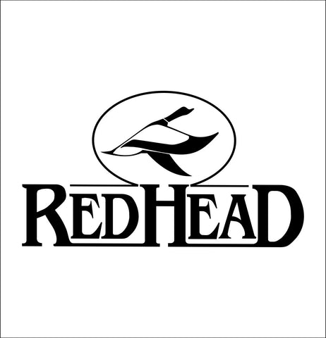 Red Head Clothing decal, sticker, hunting fishing decal
