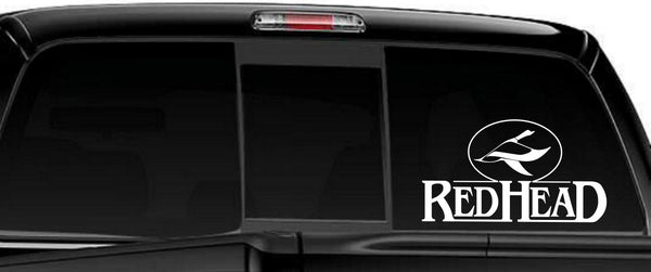 Red Head Clothing decal, sticker, car decal