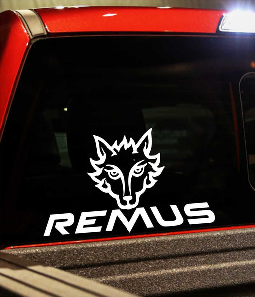 remus performance logo decal - North 49 Decals