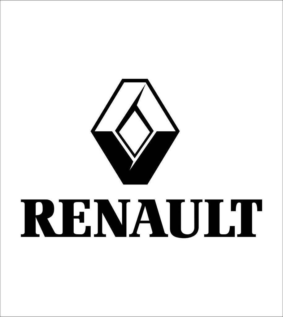 Renault decal, sticker, car decal