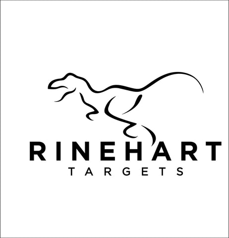 Rinehart Targets decal, sticker, hunting fishing decal