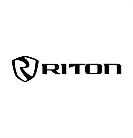 Riton Optics decal, sticker, hunting fishing decal