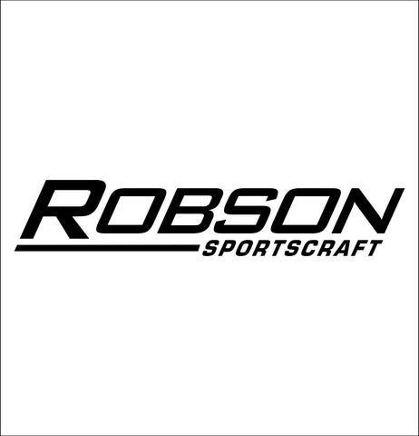 Robson Sportscraft decal, darts decal, car decal sticker