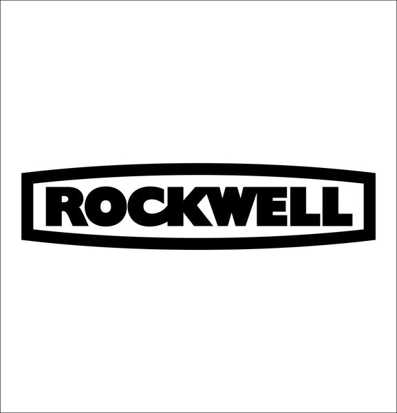 rockwell tools decal, car decal sticker
