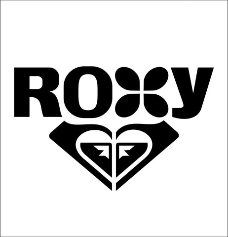 Roxy Skateboards decal, skateboarding decal, car decal sticker