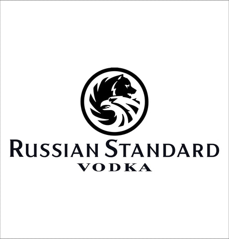 Russian Standard decal, vodka decal, car decal, sticker