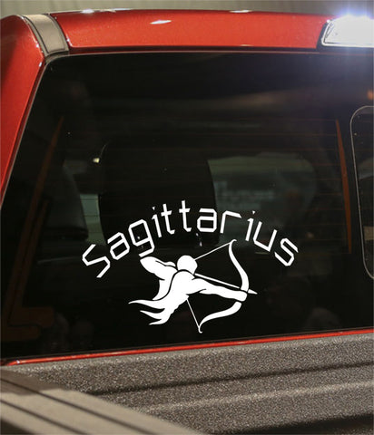 sagittarius1  zodiac decal - North 49 Decals