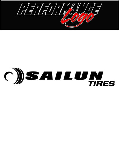 Sailun Tire decal, performance car decal sticker