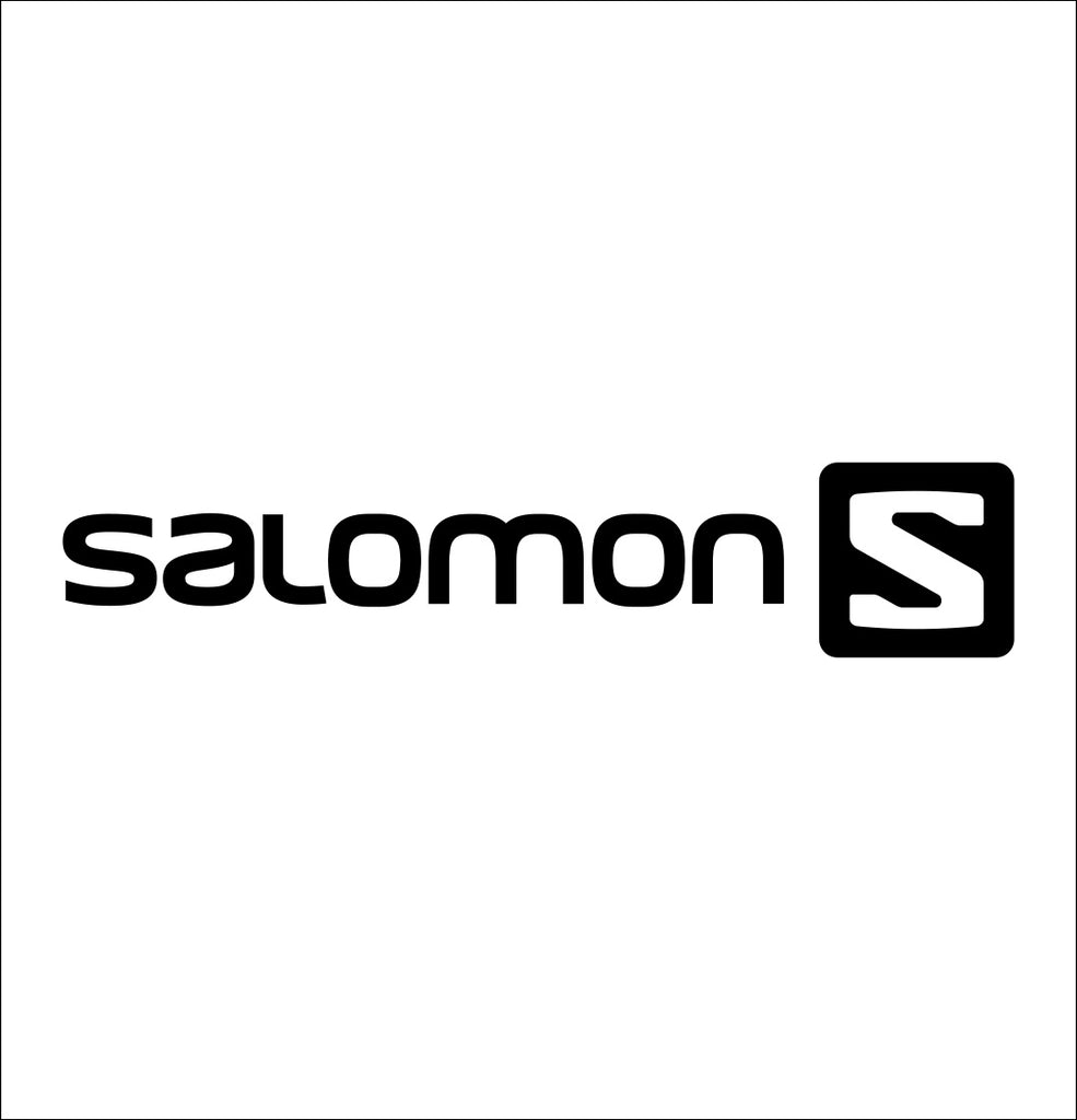 salomon decal, car decal sticker