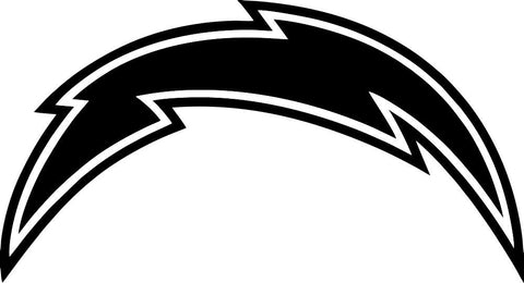 San Diego chargers car window decal