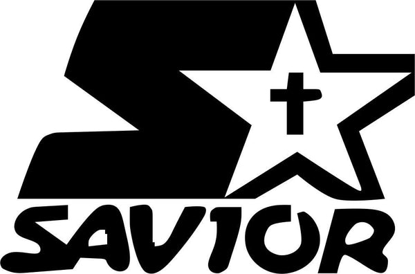 savior religious decal - North 49 Decals