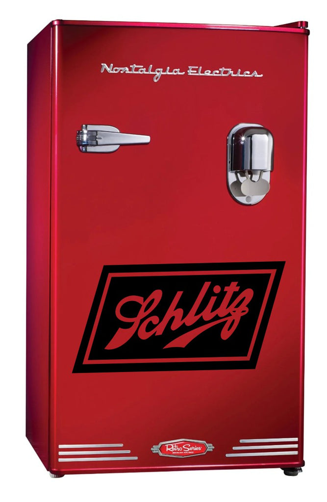 Schlitz Beer decal, beer decal, car decal sticker