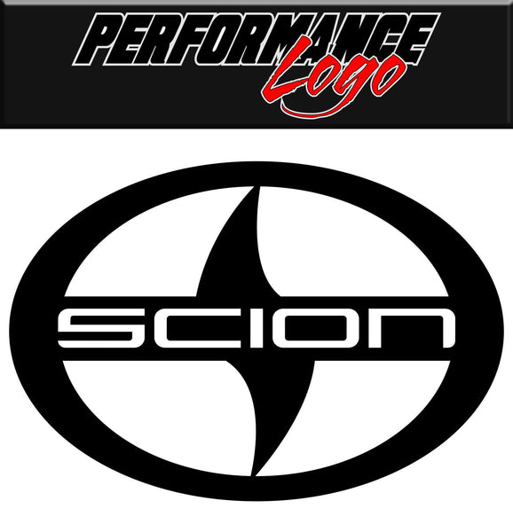 Scion decal, performance decal, sticker