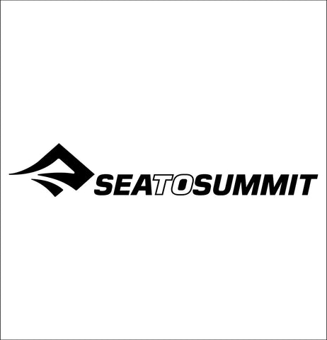 sea to summit decal, car decal sticker