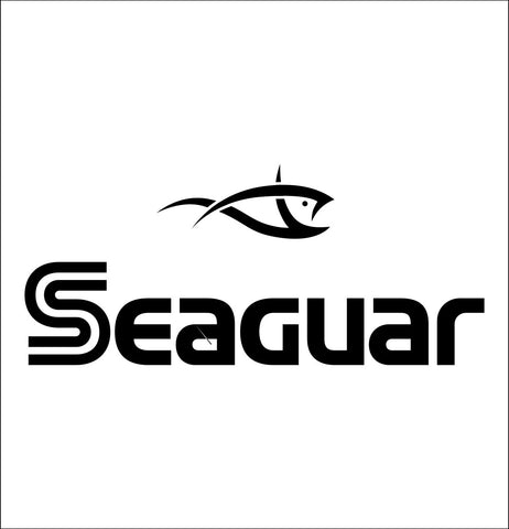 Seaguar decal, sticker, hunting fishing decal