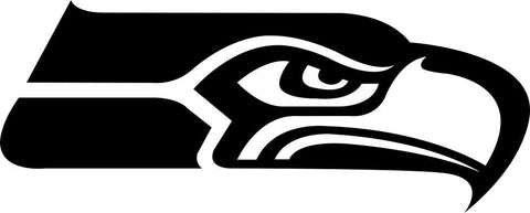 seattle seahawks car window decal