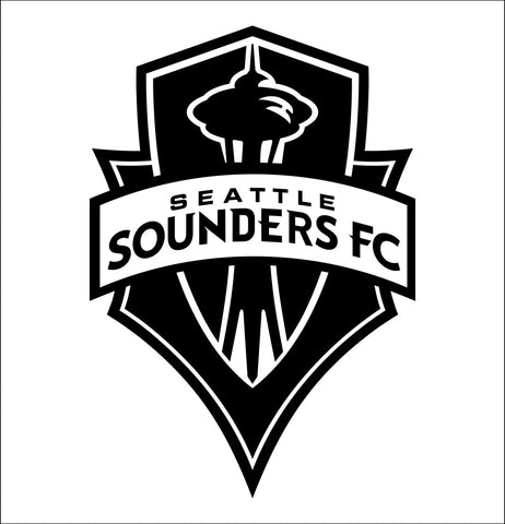 Seattle Sounders decal, car decal sticker