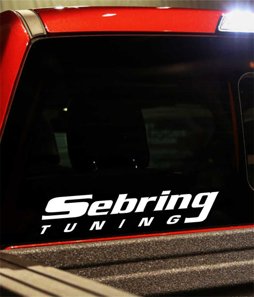 sebring tuning decal - North 49 Decals