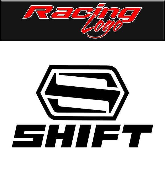 Shift decal, racing decal sticker