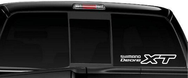 Shimano Deore XT decal, sticker, car decal
