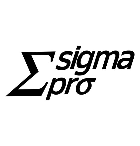 Sigma Pro Darts decal, darts decal, car decal sticker