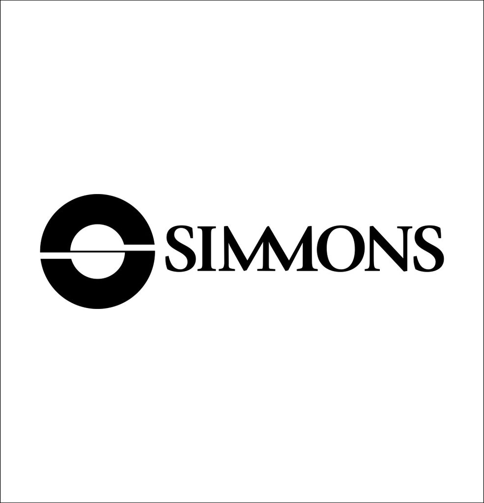 Simmons Optics decal, sticker, hunting fishing decal