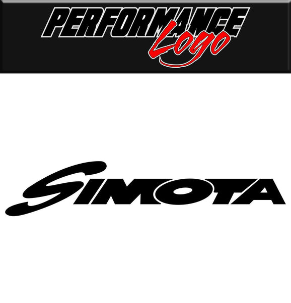 Simota decal, performance decal, sticker