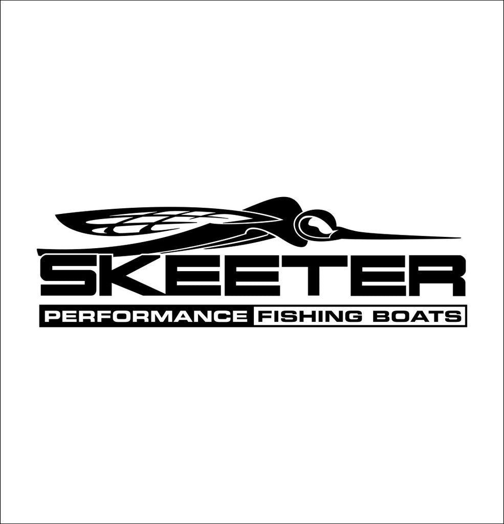 Skeeter Boats decal, sticker, hunting fishing decal