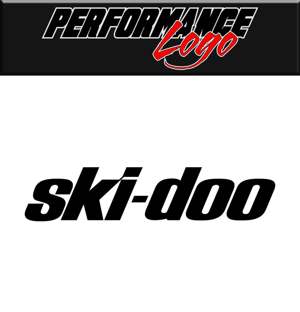 Ski Doo decal, performance decal, sticker