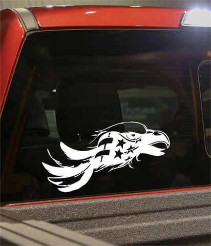 skull 10 skull biker decal - North 49 Decals