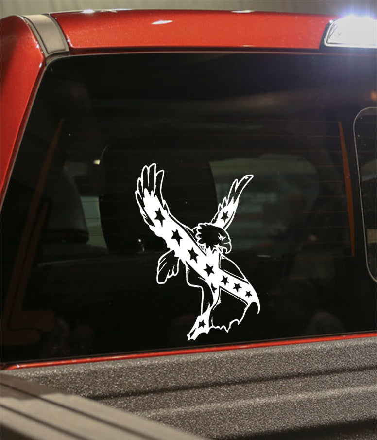skull 19 skull biker decal - North 49 Decals