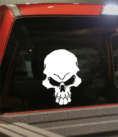 skull 39 skull biker decal - North 49 Decals