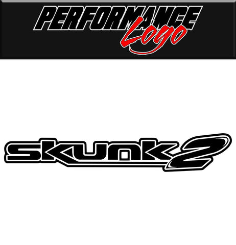 Skunk 2 decal, performance decal, sticker
