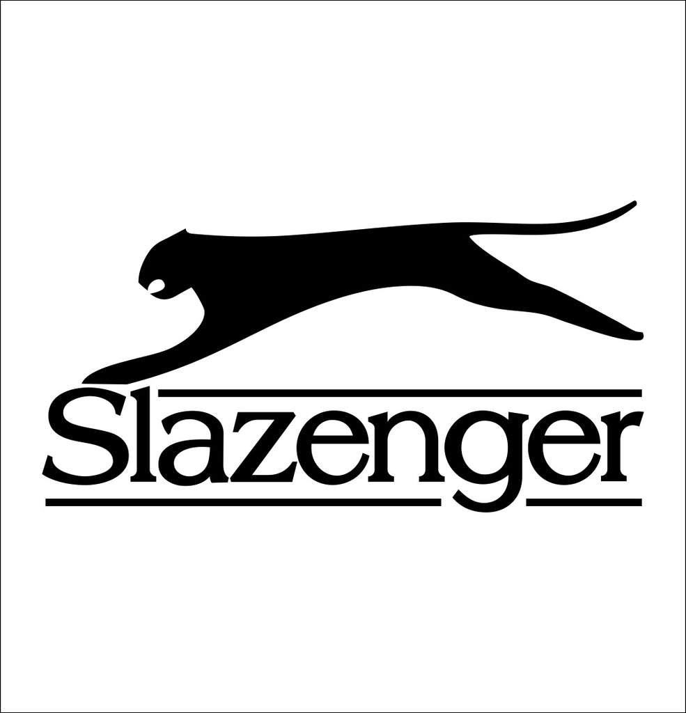 slazenger decal, car decal sticker