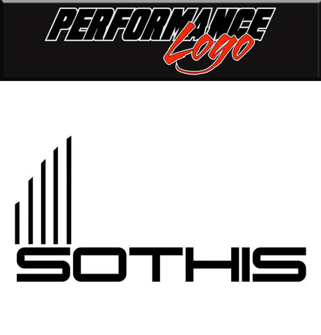 Sothis Wheels decal, performance car decal sticker