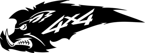 4X4 24 4x4 offroad decal - North 49 Decals