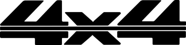 4X4 13 4x4 offroad decal - North 49 Decals