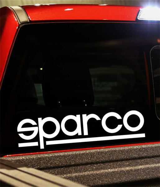sparco decal - North 49 Decals