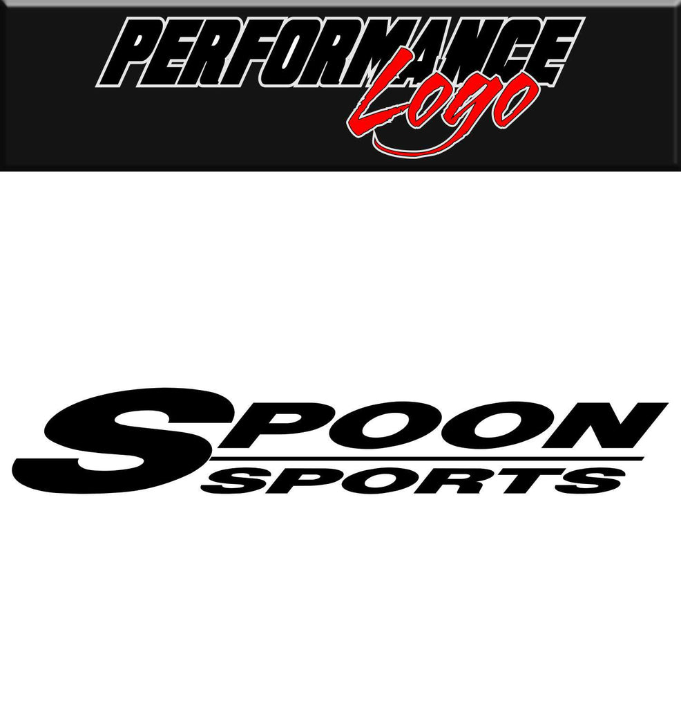 Spoon Sports decal, performance decal, sticker