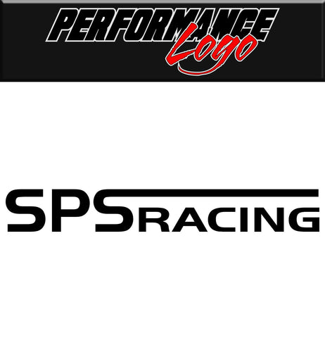 SPS Racing decal, performance decal, sticker