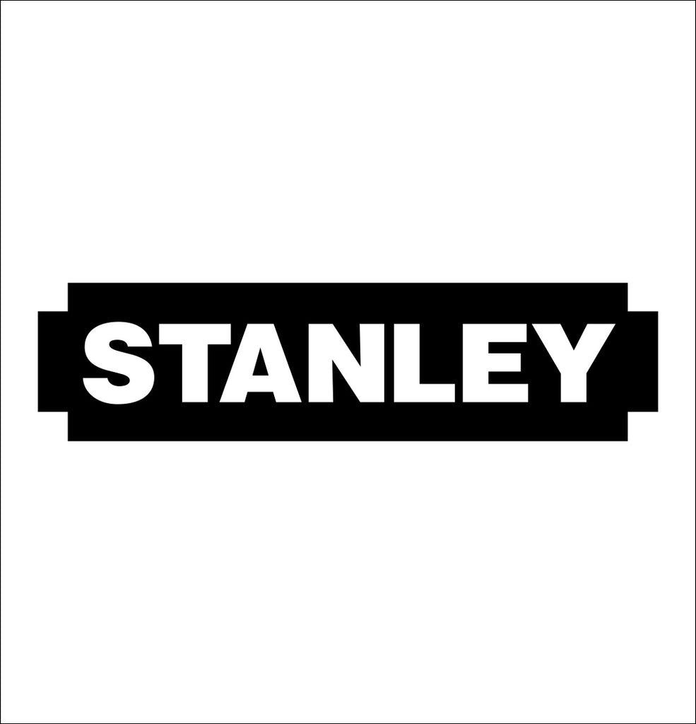stanley tools decal, car decal sticker