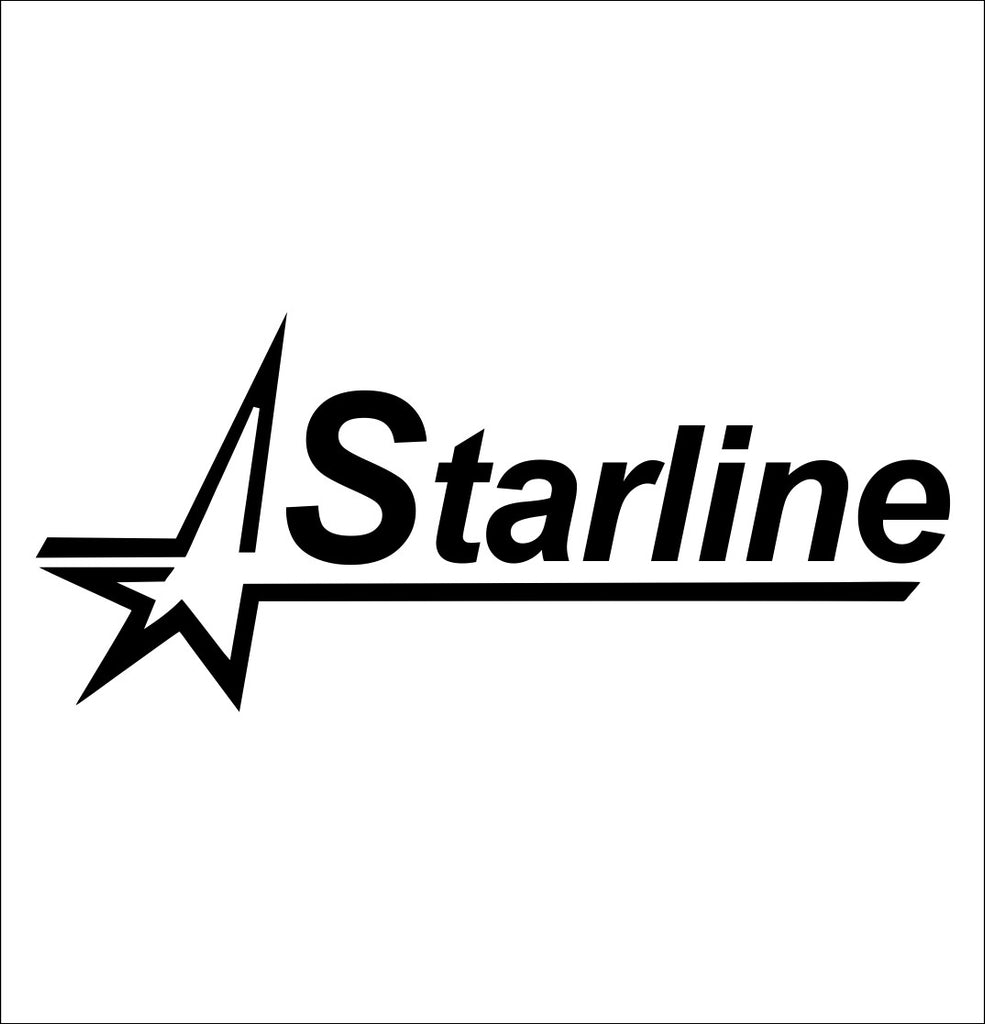 Starline Brass decal, sticker, hunting fishing decal